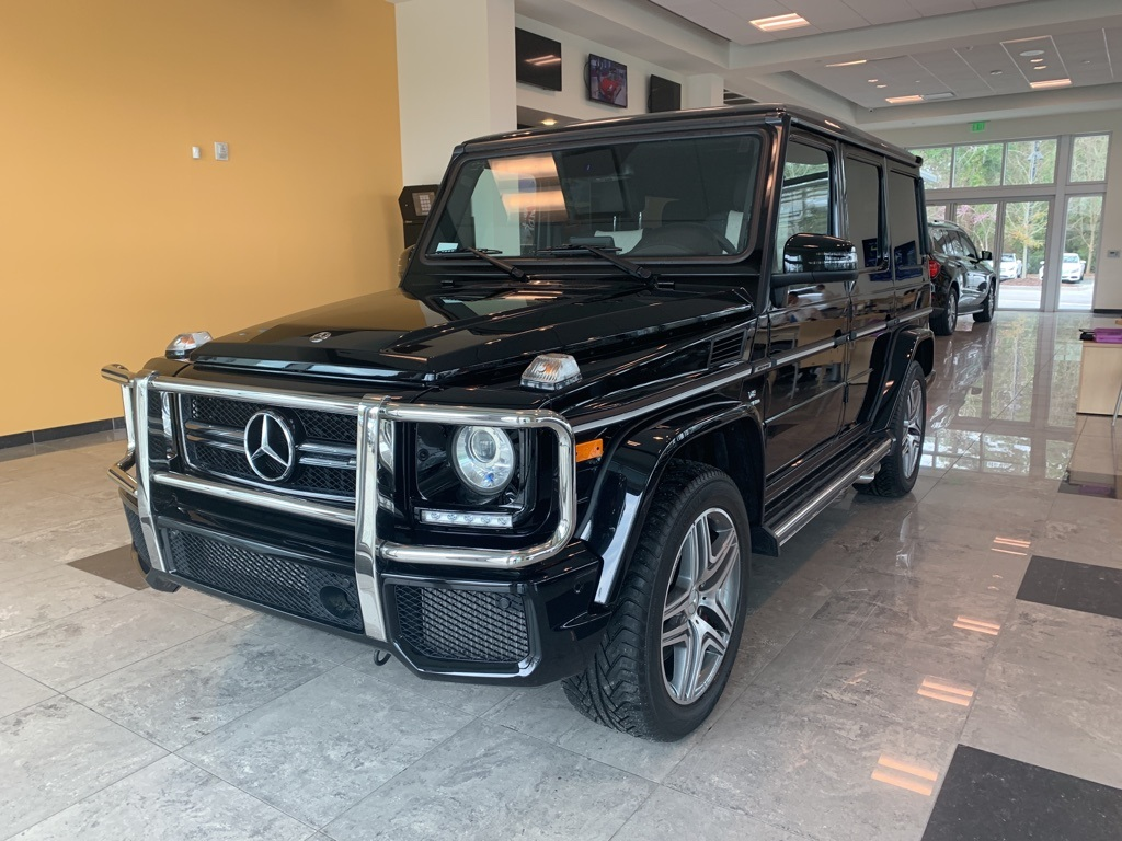 Pre-Owned 2018 Mercedes-Benz G-Class Base